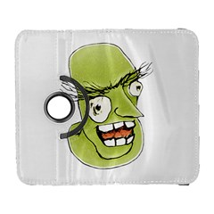 Mad Monster Man with Evil Expression Samsung Galaxy S  III Flip 360 Case by dflcprints