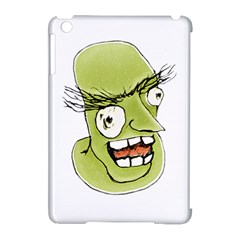 Mad Monster Man With Evil Expression Apple Ipad Mini Hardshell Case (compatible With Smart Cover) by dflcprints