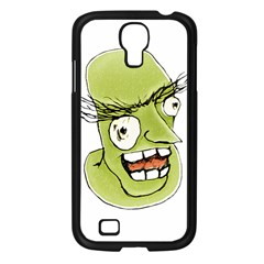 Mad Monster Man With Evil Expression Samsung Galaxy S4 I9500/ I9505 Case (black) by dflcprints