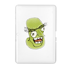 Mad Monster Man With Evil Expression Samsung Galaxy Tab 2 (10 1 ) P5100 Hardshell Case  by dflcprints