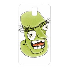 Mad Monster Man With Evil Expression Samsung Galaxy Note 3 N9005 Hardshell Back Case by dflcprints