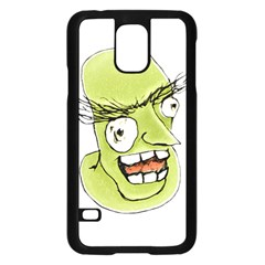 Mad Monster Man With Evil Expression Samsung Galaxy S5 Case (black) by dflcprints