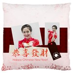 chinese new year - Standard Flano Cushion Case (Two Sides)