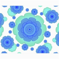 Retro Style Decorative Abstract Pattern Canvas 16  x 20  (Unframed) by dflcprints