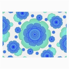 Retro Style Decorative Abstract Pattern Glasses Cloth (large, Two Sided) by dflcprints