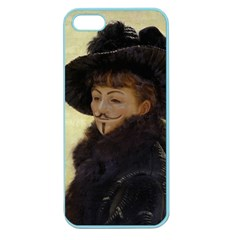 Anonymous Reading Apple Seamless Iphone 5 Case (color) by AnonMart