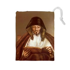 Anonymous Reading Drawstring Pouch (large) by AnonMart