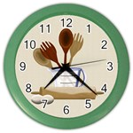 Kitchen Clock Purple - Color Wall Clock