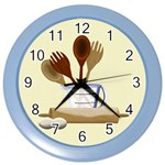 Kitchen Clock Yellow - Color Wall Clock