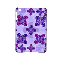 Deluxe Ornate Pattern Design In Blue And Fuchsia Colors Apple Ipad Mini 2 Hardshell Case by dflcprints