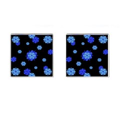 Floral Print Modern Style Pattern  Cufflinks (square) by dflcprints
