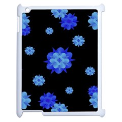 Floral Print Modern Style Pattern  Apple Ipad 2 Case (white) by dflcprints