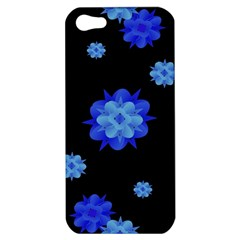 Floral Print Modern Style Pattern  Apple Iphone 5 Hardshell Case by dflcprints