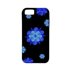 Floral Print Modern Style Pattern  Apple Iphone 5 Classic Hardshell Case (pc+silicone) by dflcprints
