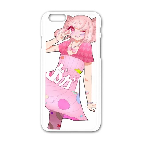 Candy Love Iphone Case! By Mishachi   Apple Iphone 6/6s White Enamel Case   06gn6cn0brv4   Www Artscow Com Front