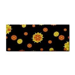 Floral Print Modern Style Pattern  Hand Towel by dflcprints