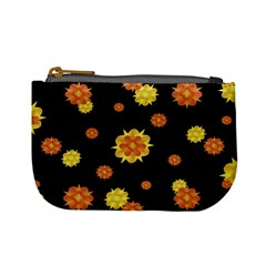 Floral Print Modern Style Pattern  Coin Change Purse by dflcprints