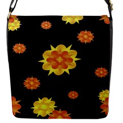 Floral Print Modern Style Pattern  Flap Closure Messenger Bag (small) by dflcprints