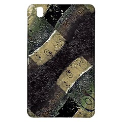 Geometric Abstract Grunge Prints In Cold Tones Samsung Galaxy Tab Pro 8 4 Hardshell Case by dflcprints