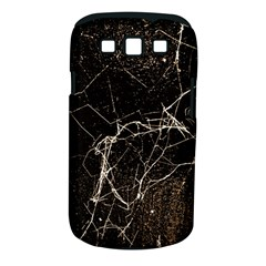 Spider Web Print Grunge Dark Texture Samsung Galaxy S Iii Classic Hardshell Case (pc+silicone) by dflcprints