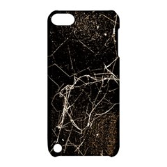 Spider Web Print Grunge Dark Texture Apple Ipod Touch 5 Hardshell Case With Stand by dflcprints