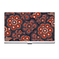 Modern Floral Decorative Pattern Print Business Card Holder by dflcprints