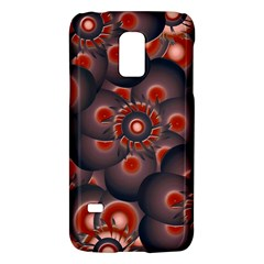 Modern Floral Decorative Pattern Print Samsung Galaxy S5 Mini Hardshell Case  by dflcprints