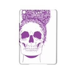 Purple Skull Bun Up Apple iPad Mini 2 Hardshell Case
