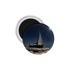 Navigating Trough Clouds Dreamy Collage Photography 1 75  Button Magnet by dflcprints