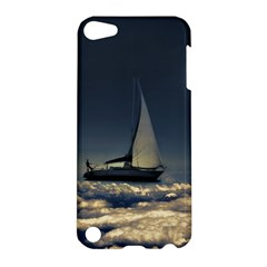 Navigating Trough Clouds Dreamy Collage Photography Apple Ipod Touch 5 Hardshell Case by dflcprints