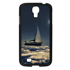 Navigating Trough Clouds Dreamy Collage Photography Samsung Galaxy S4 I9500/ I9505 Case (black) by dflcprints