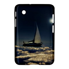 Navigating Trough Clouds Dreamy Collage Photography Samsung Galaxy Tab 2 (7 ) P3100 Hardshell Case  by dflcprints