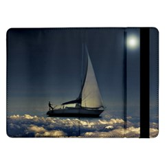 Navigating Trough Clouds Dreamy Collage Photography Samsung Galaxy Tab Pro 12 2  Flip Case by dflcprints