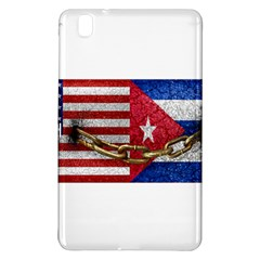 United States And Cuba Flags United Design Samsung Galaxy Tab Pro 8 4 Hardshell Case by dflcprints