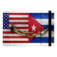 United States and Cuba Flags United Design Samsung Galaxy Tab Pro 10.1  Flip Case by dflcprints