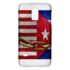 United States And Cuba Flags United Design Samsung Galaxy S5 Mini Hardshell Case  by dflcprints