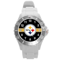 Pittsburgh Steelers National Football League Nfl Teams Afc Plastic Sport Watch (large) by SportMart