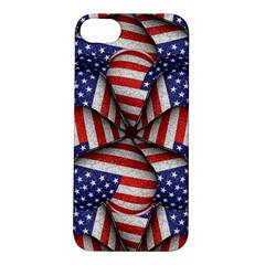Modern Usa Flag Pattern Apple Iphone 5s Hardshell Case by dflcprints