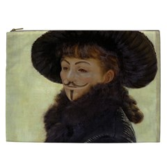 Kathleen Anonymous Ipad Cosmetic Bag (xxl) by AnonMart