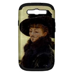 Kathleen Anonymous Ipad Samsung Galaxy S Iii Hardshell Case (pc+silicone) by AnonMart