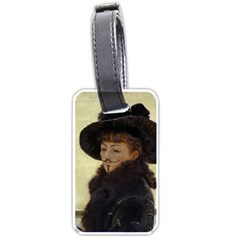 Kathleen Anonymous Ipad Luggage Tag (one Side) by AnonMart