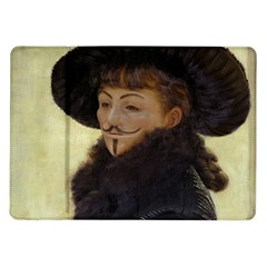 Kathleen Anonymous Ipad Samsung Galaxy Tab 10.1  P7500 Flip Case by AnonMart