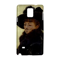 Kathleen Anonymous Ipad Samsung Galaxy Note 4 Hardshell Case by AnonMart
