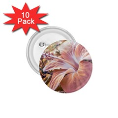 Fantasy Colors Hibiscus Flower Digital Photography 1 75  Button (10 Pack) by dflcprints
