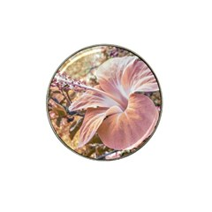 Fantasy Colors Hibiscus Flower Digital Photography Golf Ball Marker 10 Pack (for Hat Clip) by dflcprints