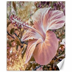Fantasy Colors Hibiscus Flower Digital Photography Canvas 8  X 10  (unframed) by dflcprints