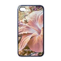 Fantasy Colors Hibiscus Flower Digital Photography Apple Iphone 4 Case (black) by dflcprints