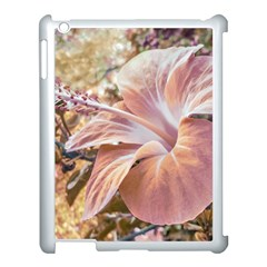 Fantasy Colors Hibiscus Flower Digital Photography Apple Ipad 3/4 Case (white) by dflcprints