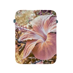 Fantasy Colors Hibiscus Flower Digital Photography Apple Ipad Protective Sleeve by dflcprints