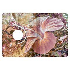 Fantasy Colors Hibiscus Flower Digital Photography Kindle Fire Hdx Flip 360 Case by dflcprints
